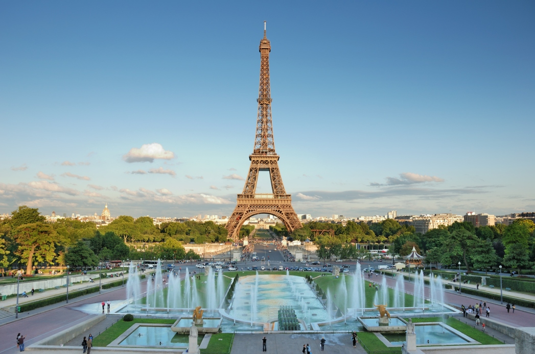 Visit the Eiffel Tower when you're in Paris