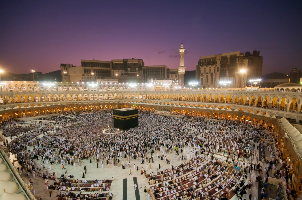 Many people take holy water - or Zamzam - after performing Hajj