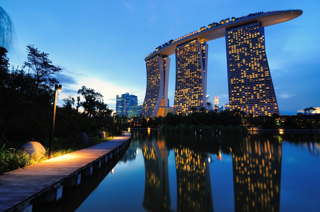 Marina Bay Sands has everything you'd expect from a Las Vegas resort