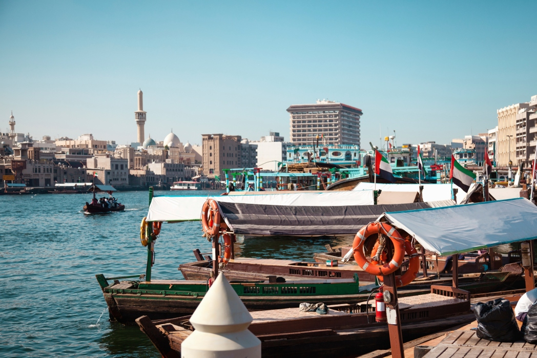 Take an abra across Dubai Creek for just Dh1