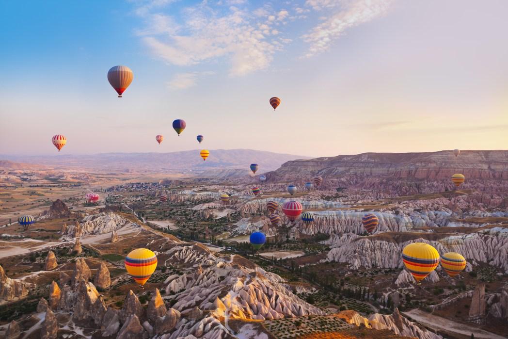 Best places to visit in September: Cappadocia, Turkey
