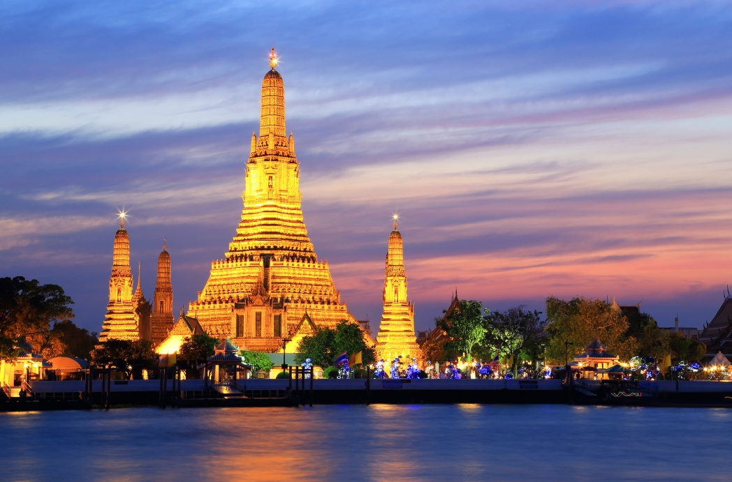 The Wat Arun temple is one of Bangkok's finest