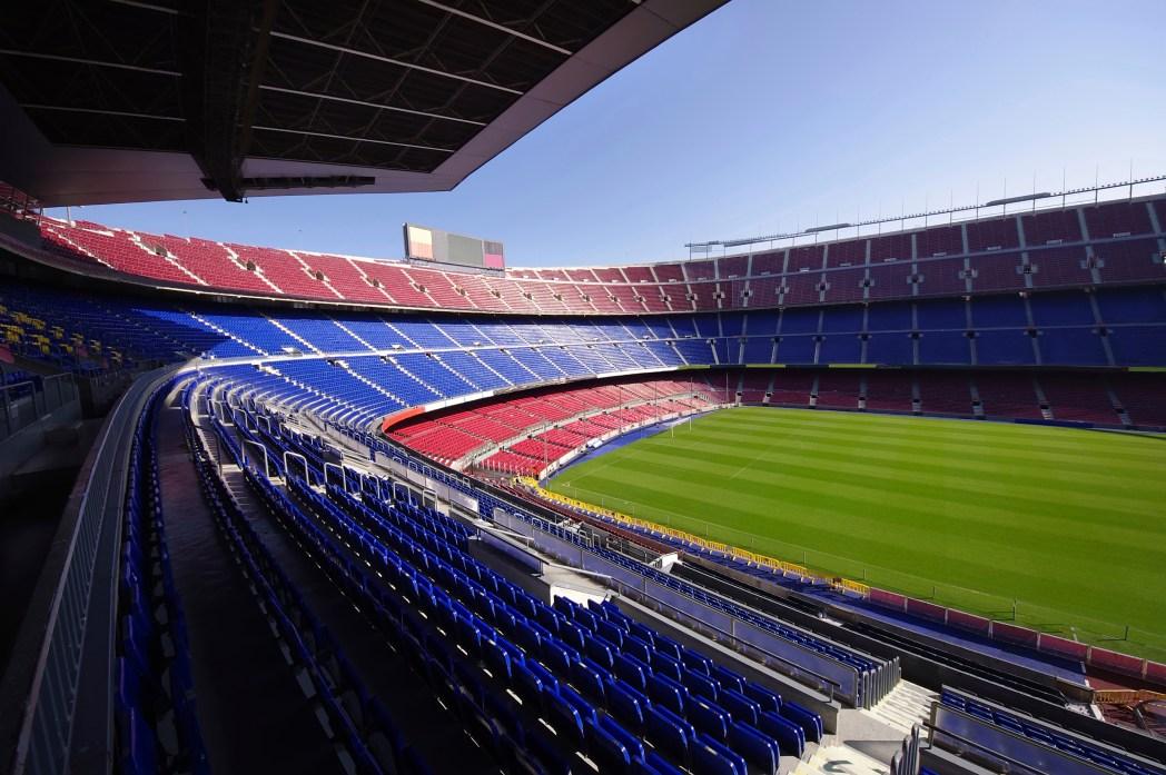 Take a tour of Camp Nou home of FC Barcelona