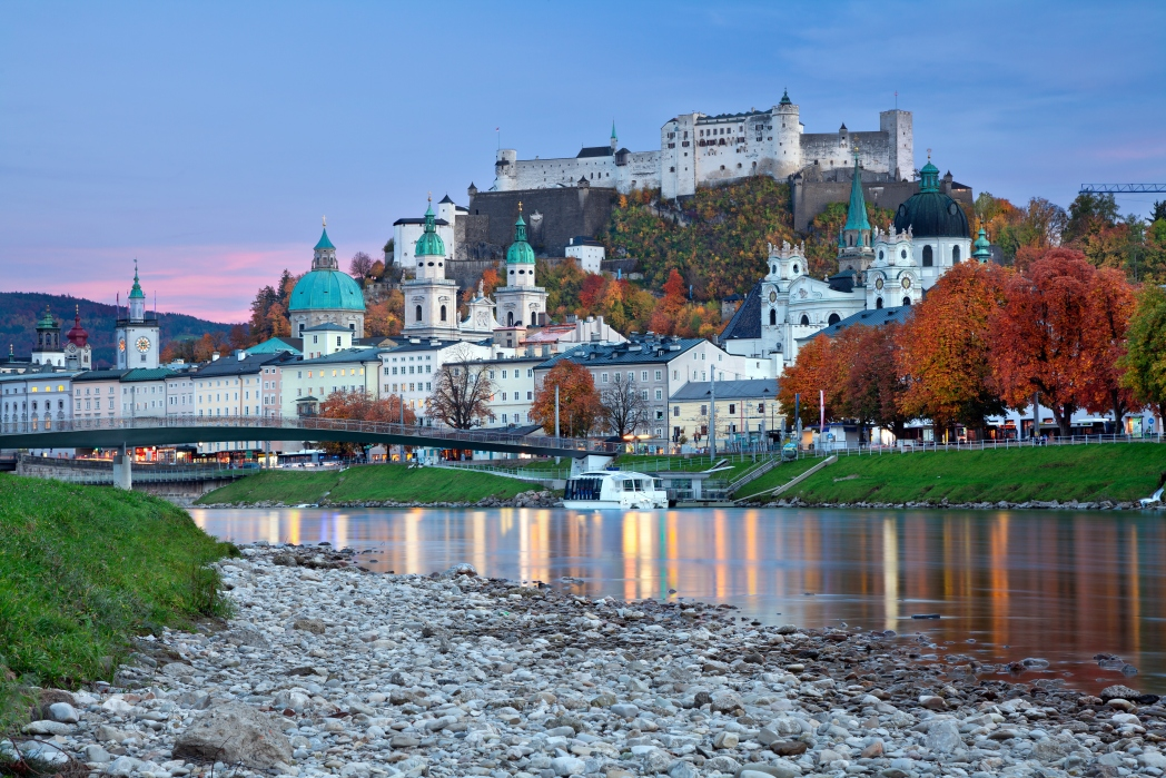 Best places to go in January: Salzburg