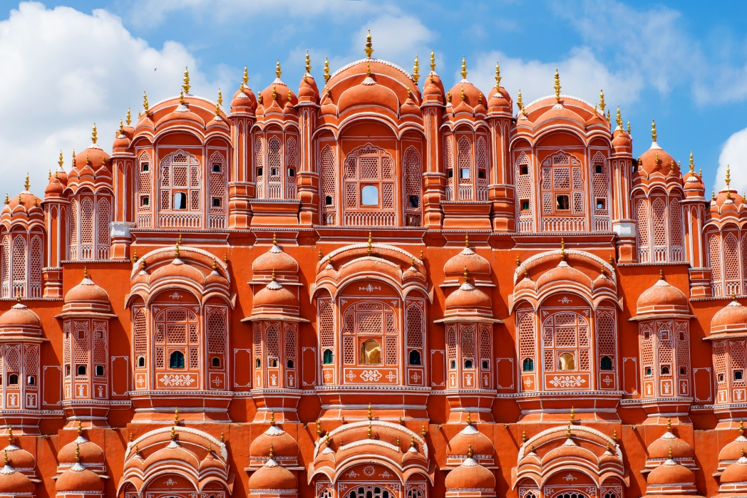 This impressive fortress gives Jaipur its nickname 'The Pink City'