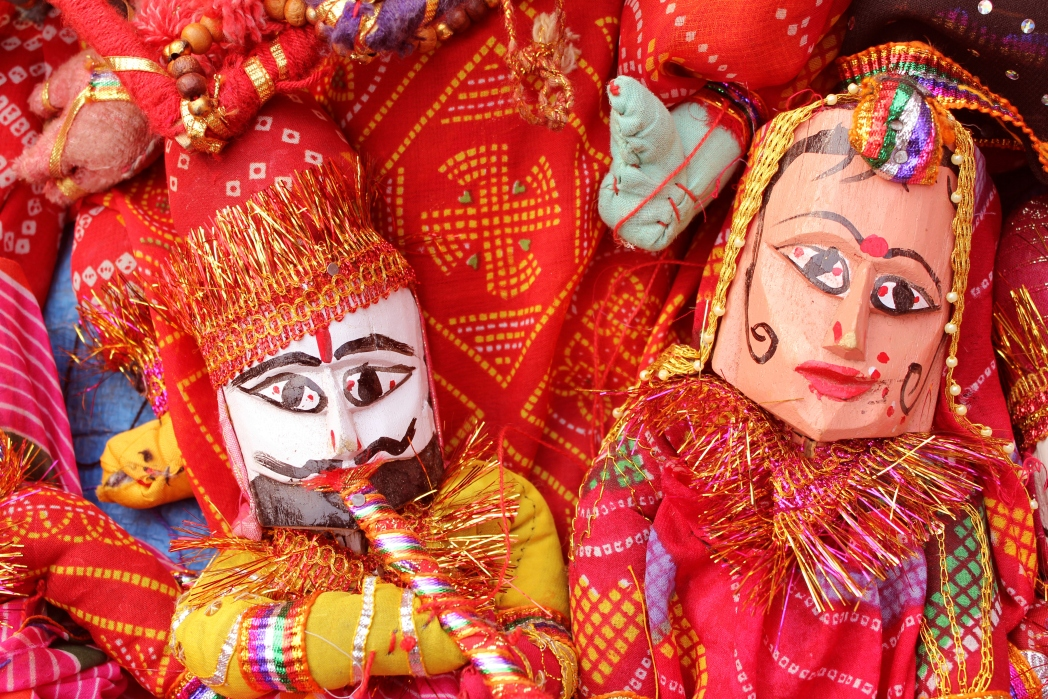 Shop for local handicrafts at Dilli Haat