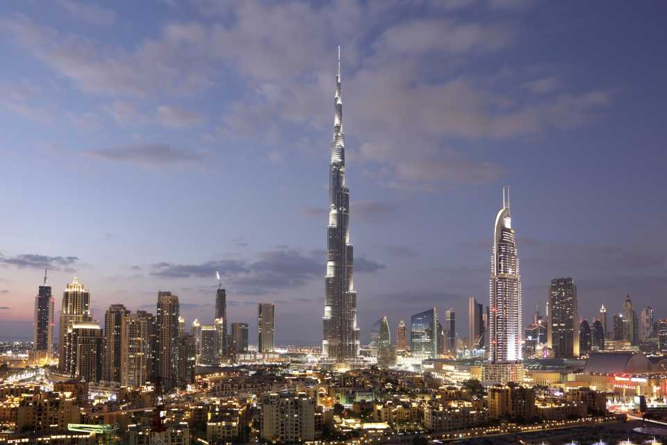 Best places to go in January: Dubai