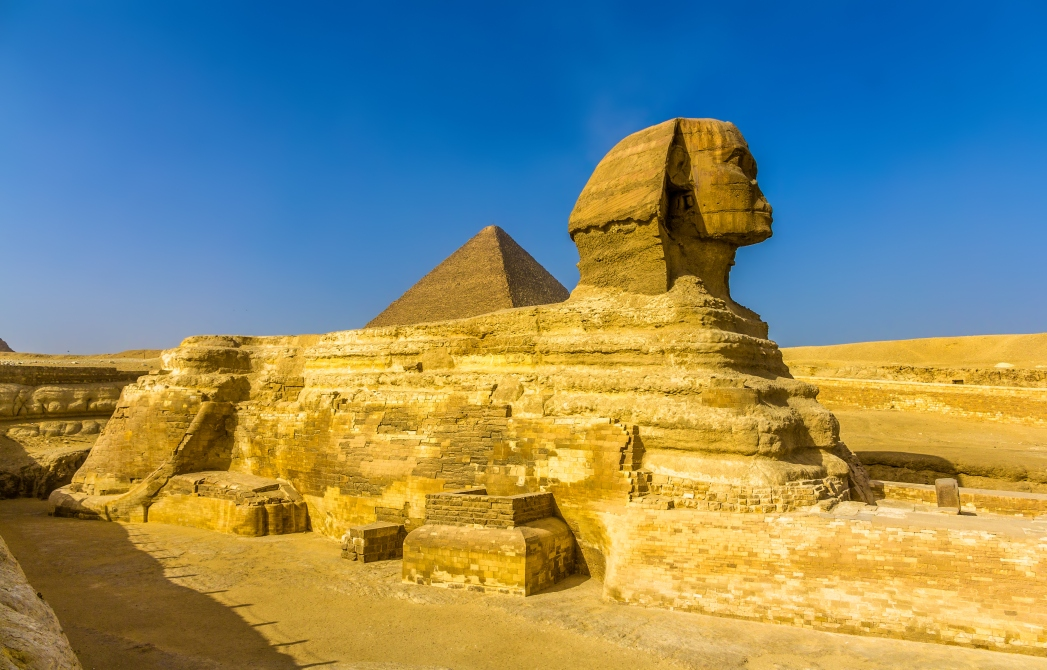 Best places to visit in Egypt: Great Sphinx of Giza
