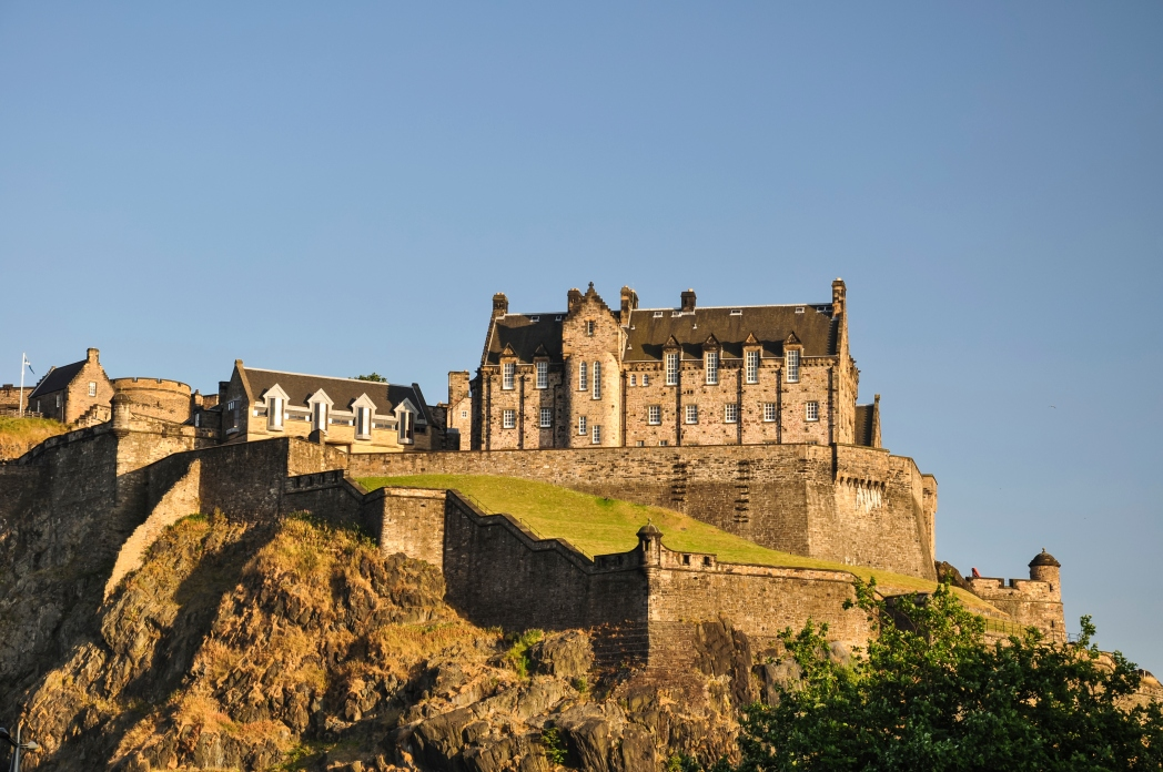 Scottish castles are dotted all over the country