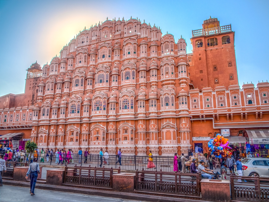 Best tourist places in India: Hawa Mahal Jaipur