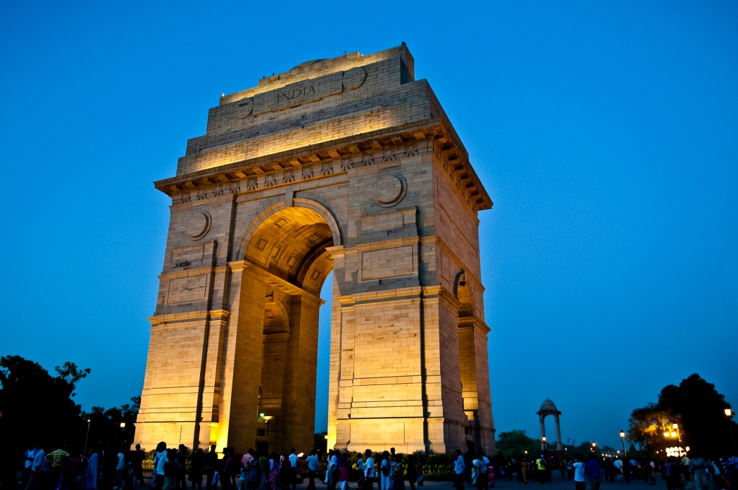India Gate is the symbol of New Delhi