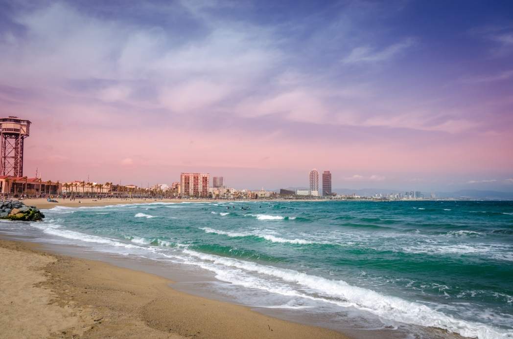 There are lots of Barcelona beaches to choose from