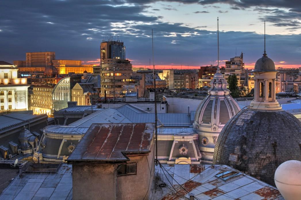 Wander through Bucharest's old town