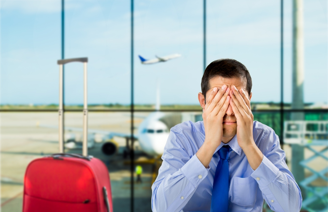 Don't be afraid to show an airline that they have let you down