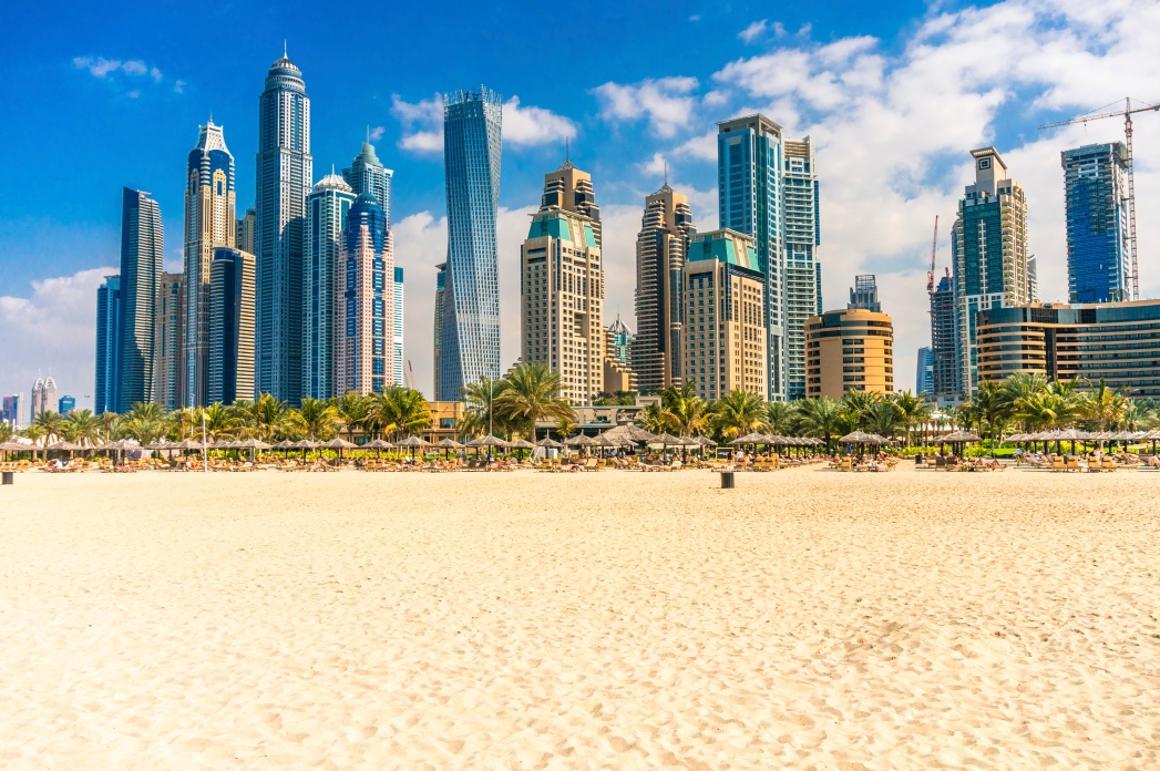 There are lots of public beaches in Dubai which won't cost you a dirham to visit