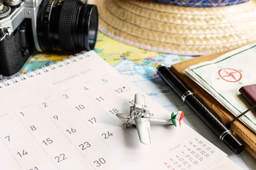 Book your RTW and leave between late April and mid June