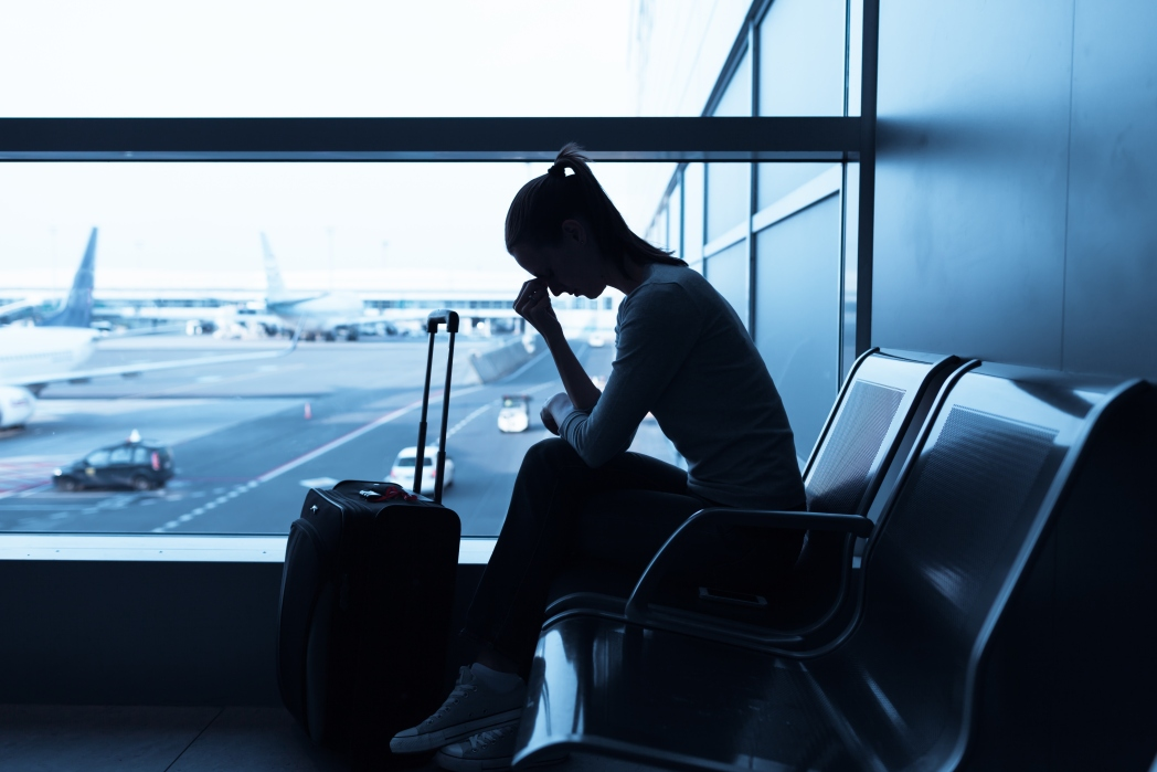 Submit your claim for compensation for a delayed or canceled flight with the airline