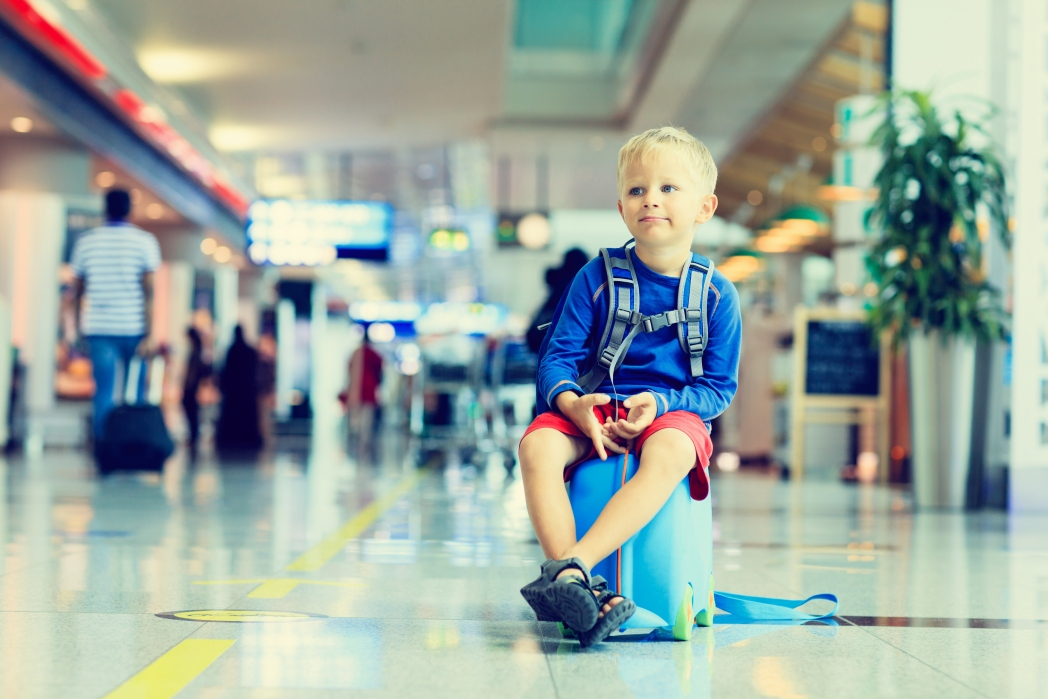 You get one extra standard size bag if you are traveling with an infant
