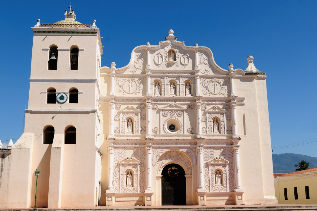 The Spanish heritage can be seen in Honduras's buildings