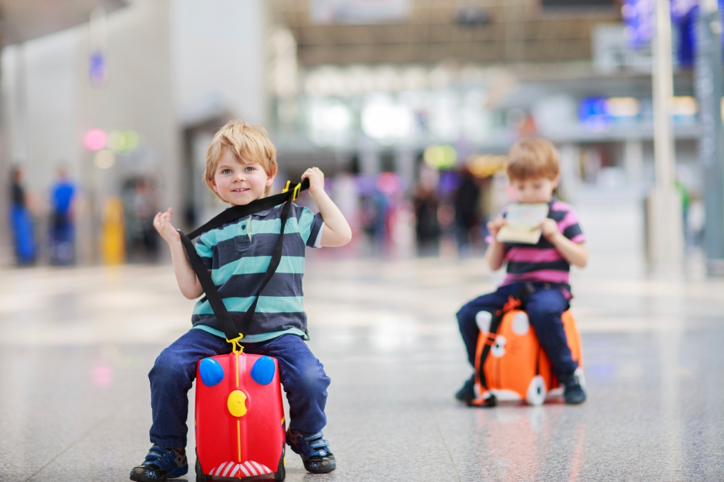 Infants are entitled to an extra piece of hand luggage