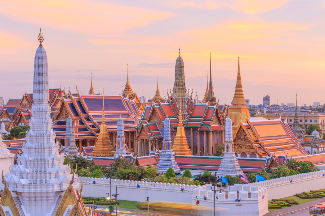 The Grand Palace is considered one of Thailand's most important temples.