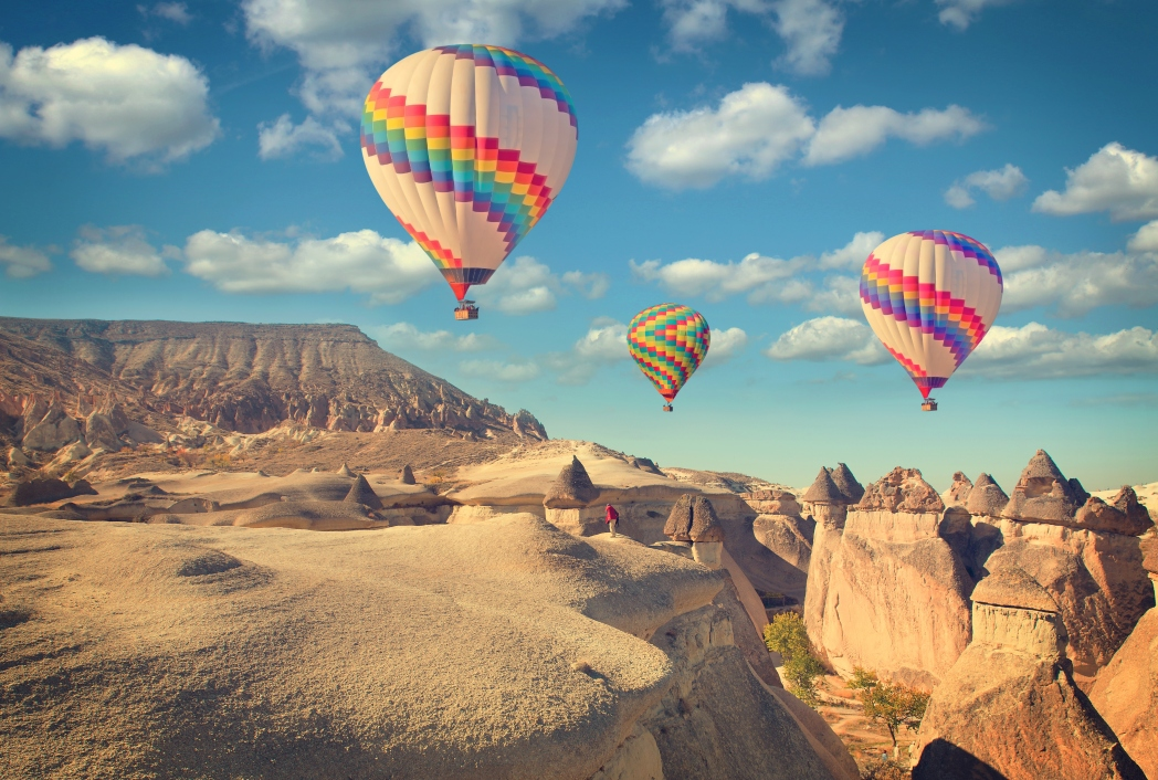 Best places to go in Turkey: Cappadocia