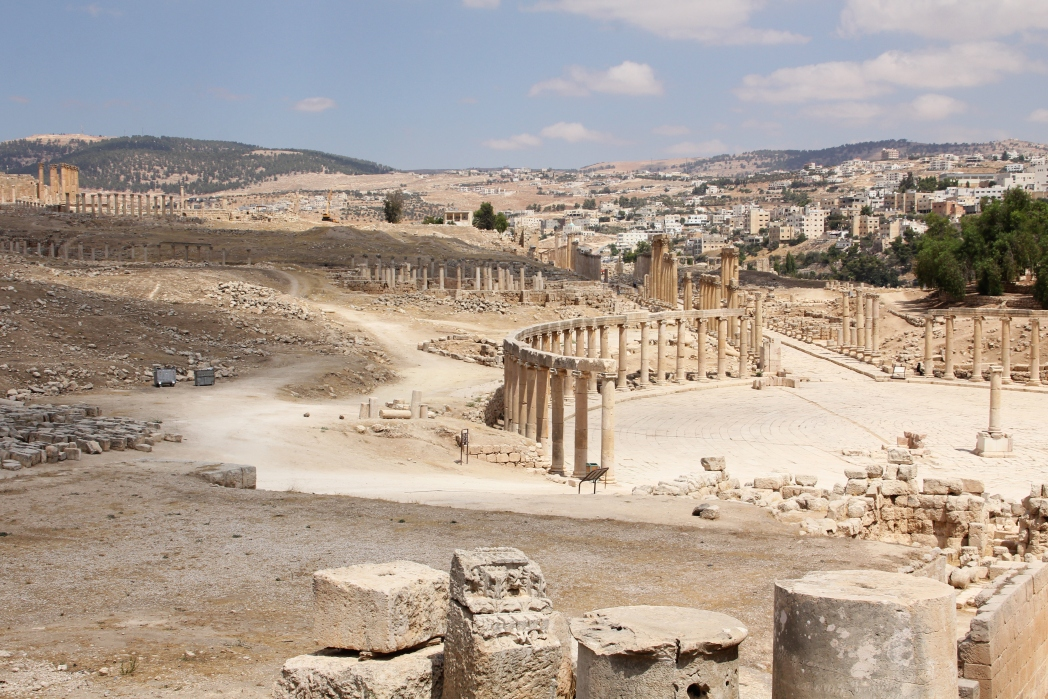 Amman Citadel dates back to the Bronze Age and was a very important political site for thousands of years