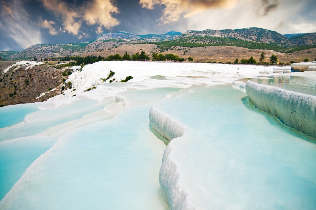 Best places to visit in Turkey: Pamukkale