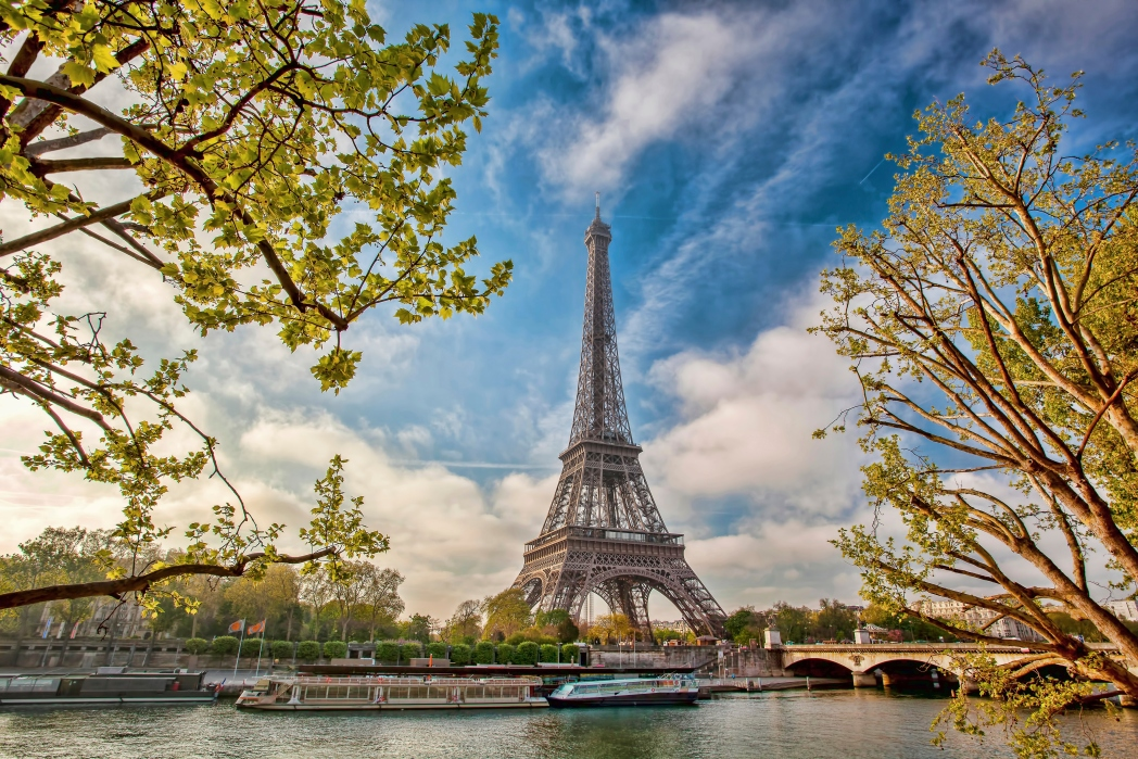 Exercise outdoors and treat yourself to a vacation in Paris