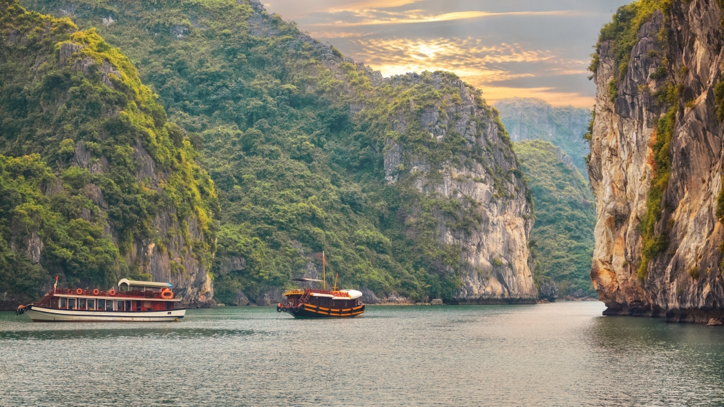 Halong Bay is well worth a visit