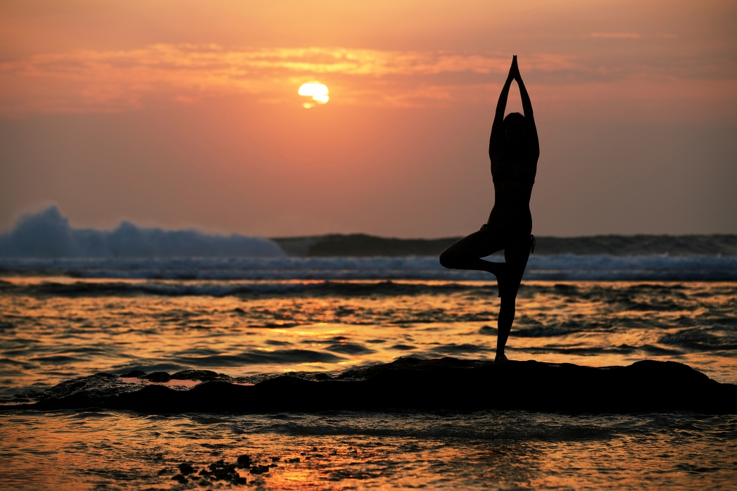 Enjoy some yoga by the sea at the Power of Now Oasis