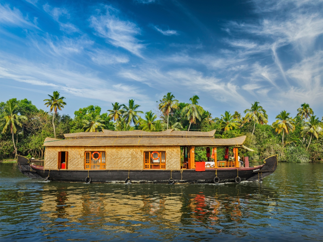 Take a ride on a Kochi ferry and island hop, or admire the landscape