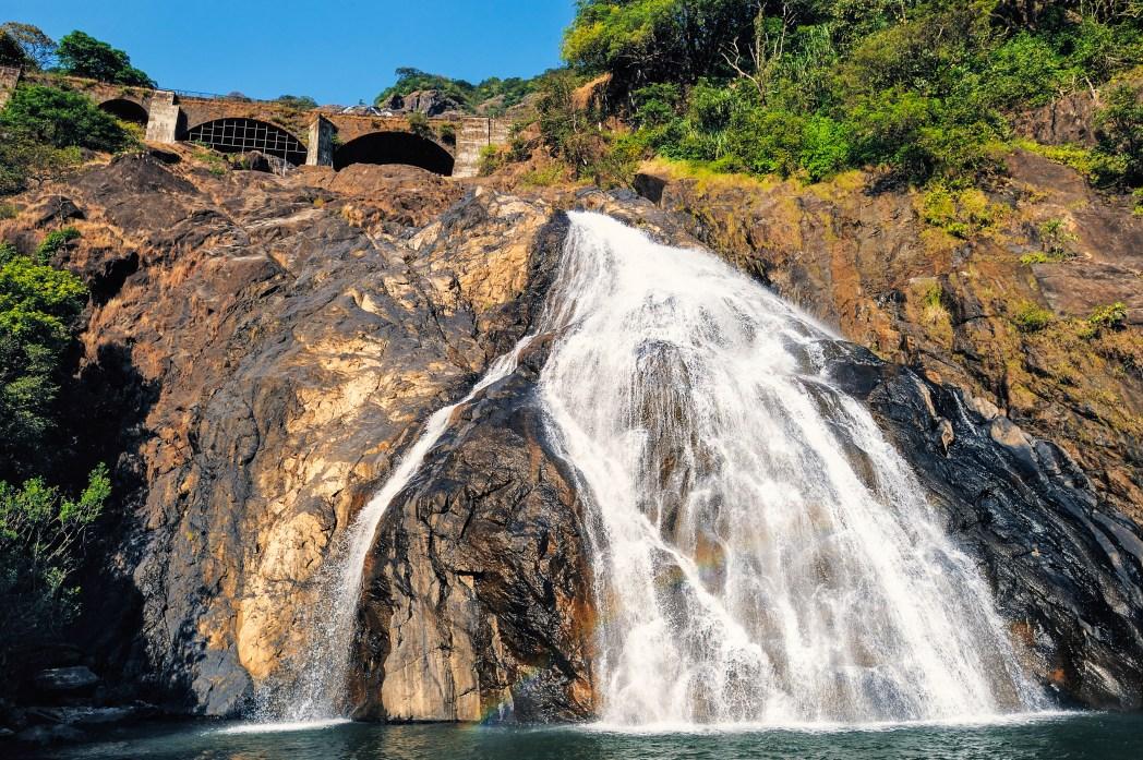 Best things to do in Goa: Dudhsagar Falls