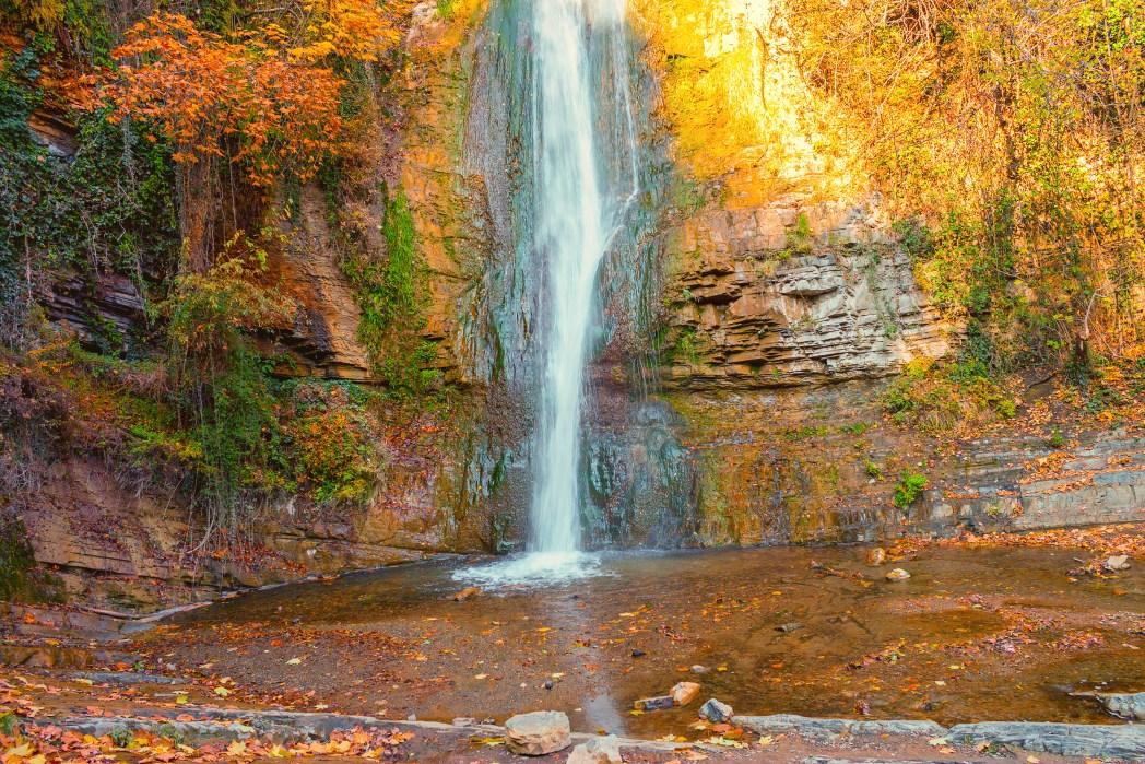 Waterfall at The National Botanical Garden of Georgia