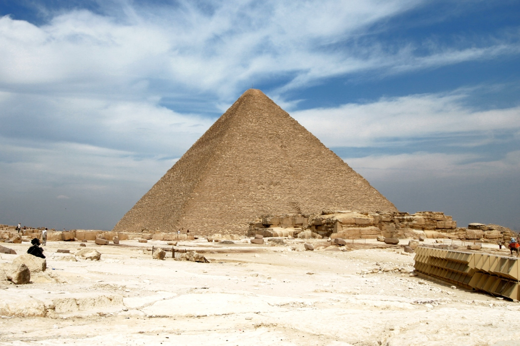 Best places to visit in Egypt: Pyramids of Giza