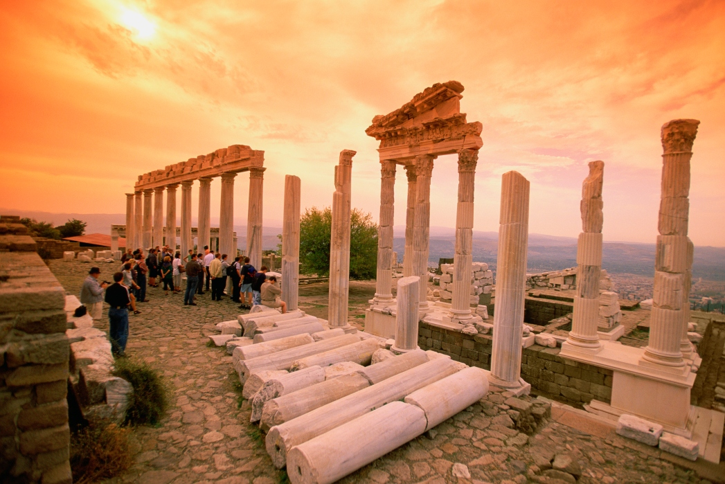 Best places to visit in Turkey: Bergama Acropolis