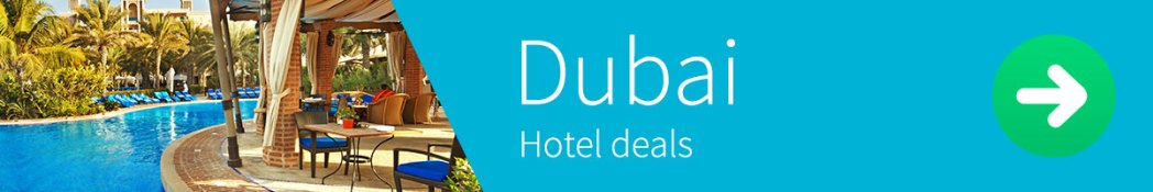 Hotel deals in Dubai