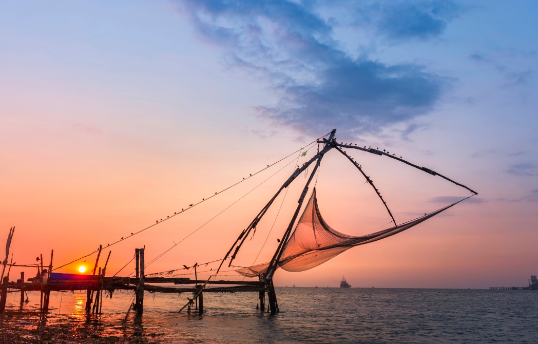 The Kochi Chinese Fishing Nets are a popular tourist attraction in Kochi