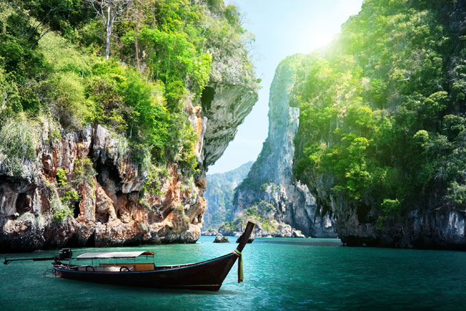 Krabi is the gateway to a number of national parks