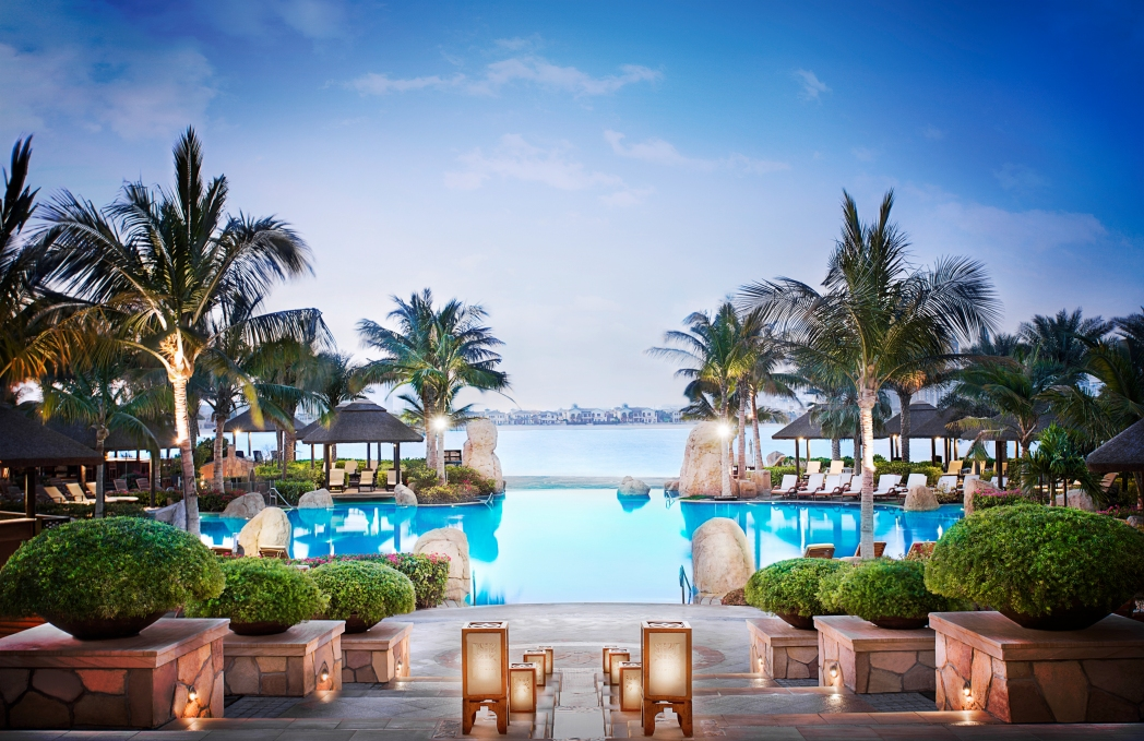 The Palm, Dubai, has some excellent hotels