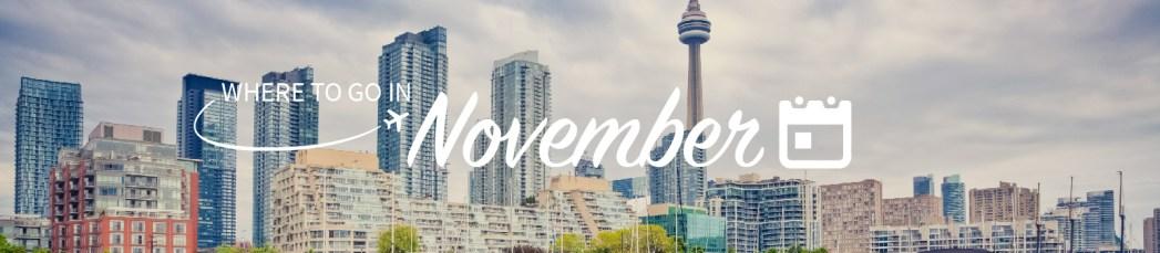 Where to go in November