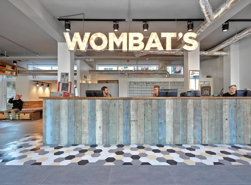 Wombat's City Hostel London has a great outside terrace with hammocks